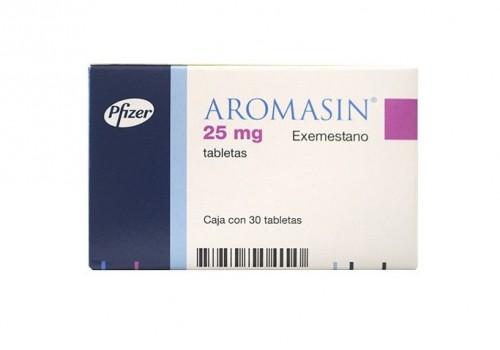 Aromasin upper back pain