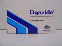 Dyazide 60tabs x (50mg+25mg)