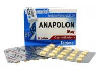 Balkan Anapolon 60 x 50 mg tabs - EXP. 03-2017