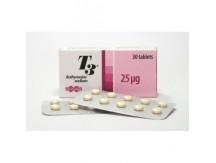 Uni Pharma T3 - 30tabs x 25mcg