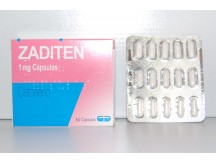 Théa Zaditen (ketotifen) - 60caps x 1mg